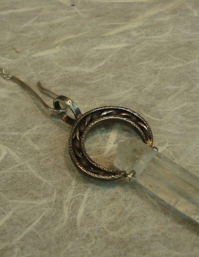 Pendel mit Bergkristall