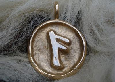 Ansuz in Bronze