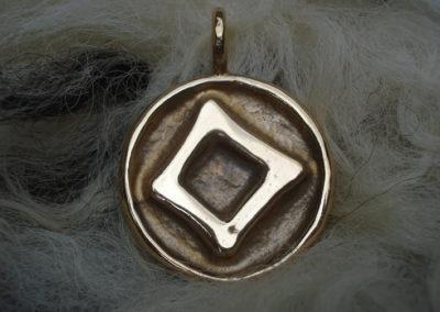 Ingwaz in Bronze