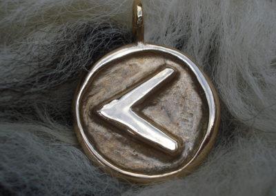 Kenaz in Bronze