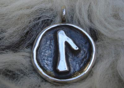 Laguz in Silber