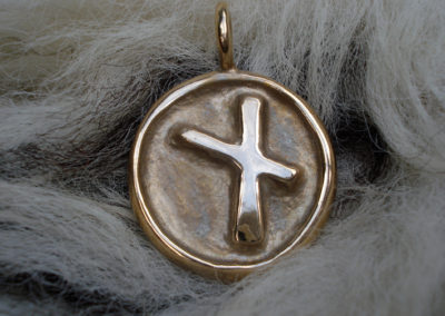 Nauthiz in Bronze