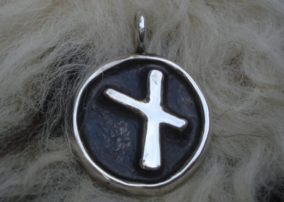 Nauthiz in Silber