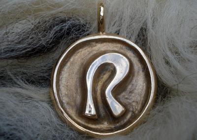 Raidho in Bronze