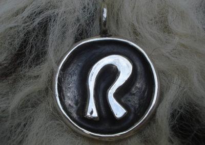 Raidho in Silber