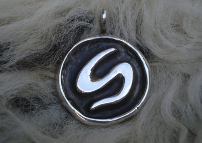 Sowilo in Silber