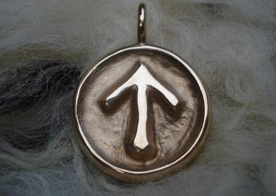 Tiwaz in Bronze